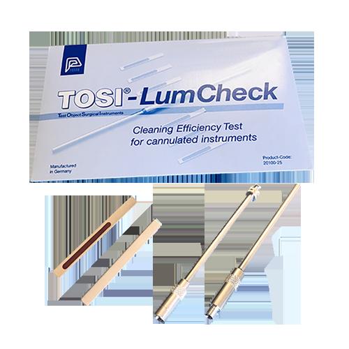 Teste monitor e indicador de limpeza TOSI Lumcheck