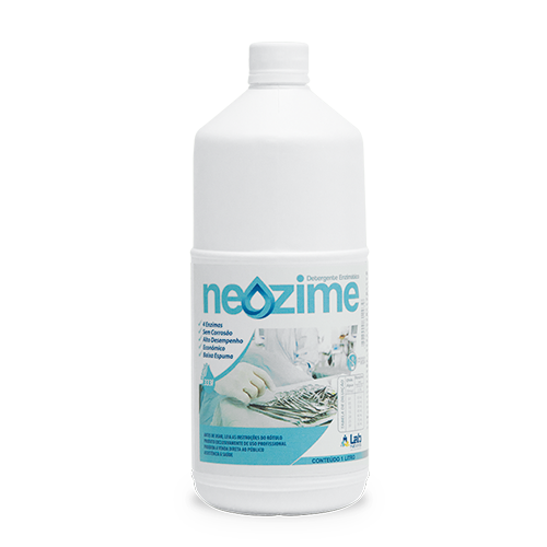 Detergente multi enzimático para limpeza de instrumentais - Neozime
