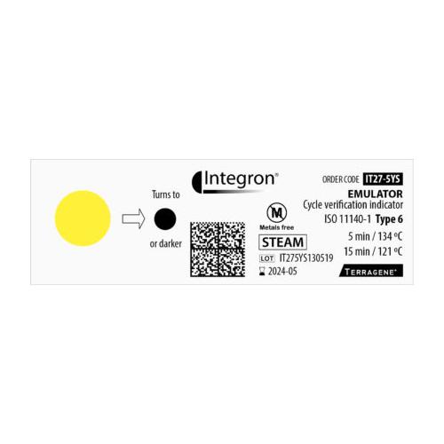 Indicador químico Emulador Terragene Classe 6 [5 minutos]
